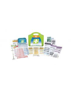 First Aid Kit for 1 to 25 Place Centre - Plastic portable case