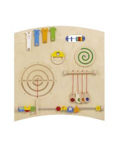 Curve A - Sensory Learning Wall Panel