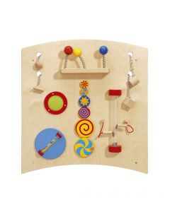 Curve B - Sensory Learning Wall Panel