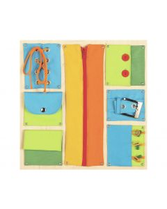 Closures - Sensory Learning Wall Panel