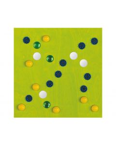Brushes, Balls And Mirrors - Sensory Learning Wall Panel