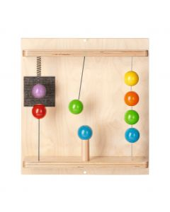 Magnet Spring Balls - Sensory Learning Wall Panel