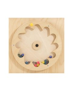 Wheel With Rubber Balls - Sensory Learning Wall Panel