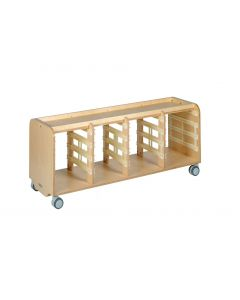 Long Tote-Tray Storage Tray Top 600H - Birch