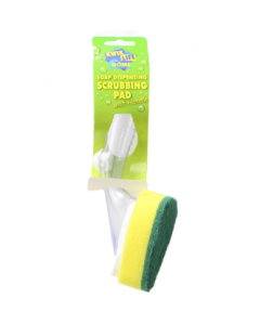 Kwik Life Soap Dispensing Scrubbing Brush
