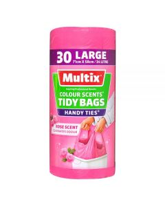 Multix Handy Ties Tidy Bag Large 30 Pack