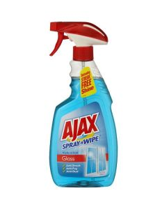 Ajax 500mL Spray n Wipe Trigger Glass Cleaner