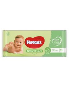 Huggies Baby Wipes Aloe Natural Care Box of 10