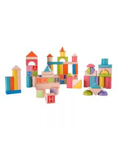 Build & Learn 80pc Block Set