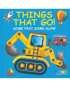 Things That Go Story Book