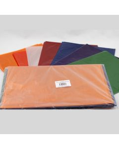 750 x 1000 Cellophane 25 Sheets 5 Assorted Colours