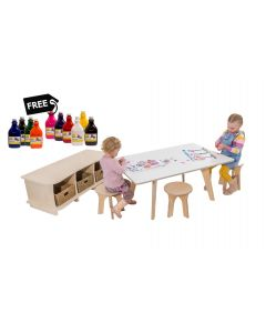 Flexihub Junior Table & Storage Pack