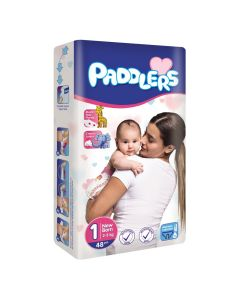 Paddler Nappies Newborn - Size 1