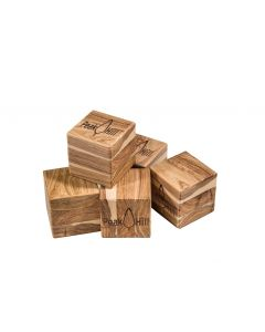 Peak Hill Cypress Pine Blank Dice - 5 Pack