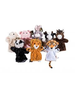 Assorted Puppets Set of 8