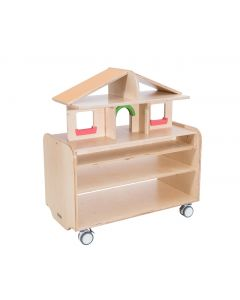 Mobile Play Unit With House Extension