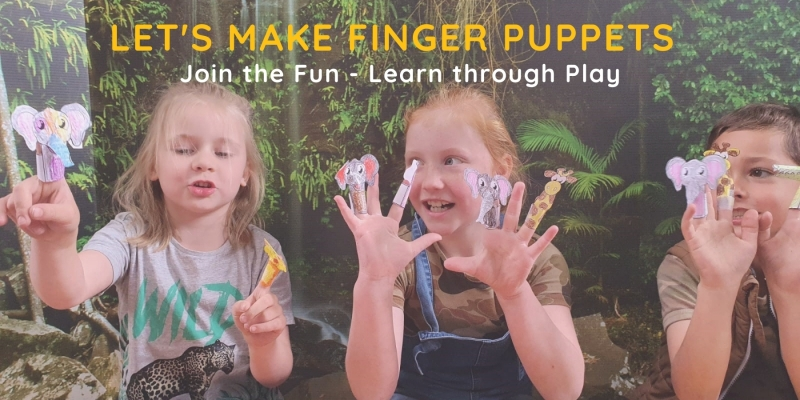 Let's make Finger Puppets